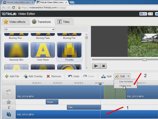 Изменяем расположение видеофайла