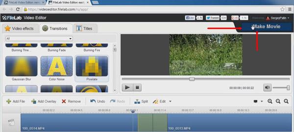 Экспорт видео